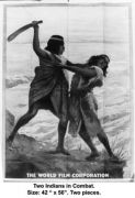 Two Indians in Combat