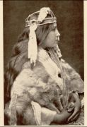 Naida, the Proud Princess (Margaret Frank [nee Hunt]) (from Edward Curtis's book In the Land of the Head Hunters, 1915)